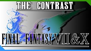 The Contrast Between Final Fantasy VII and Final Fantasy X
