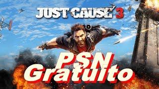 Just Cause 3 PSN gratuito de setembro.