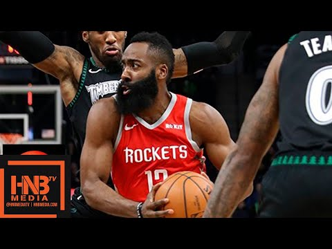 Houston Rockets vs Minnesota Timberwolves Full Game Highlights | 12.03.2018, NBA Season