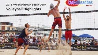 2013 Manhattan Beach Open Volleyball Highlights