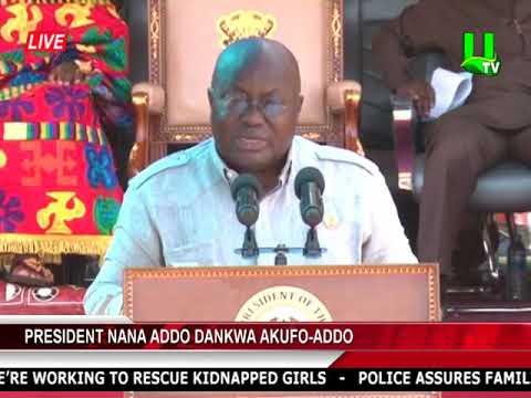 Prez Reopens Obuasi Mine, Promises To Sustain Operations