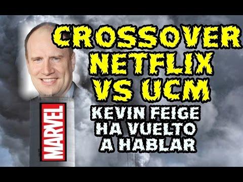 MARVEL UCM VS NETFLIX - CROSSOVER TV Y CINE - KEVIN FEIGE HABLA SOBRE ELLO - HUMO DEL BUENO - DISNEY
