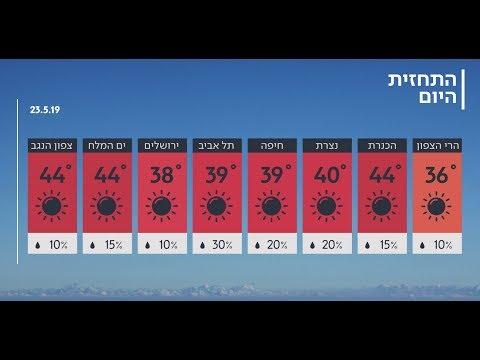 """התחזית 22.05.19: ל""""ג בעומר שרבי"""