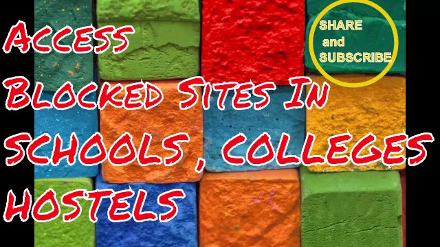 Access all blocked sites colleges schools hostels youtube access all blocked sites colleges schools hostels ccuart Choice Image