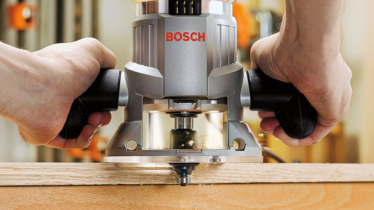 Bosch Router Bits Product Video Youtube