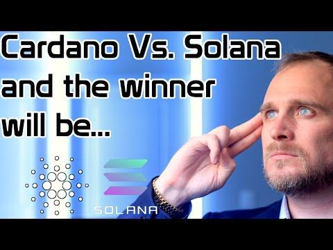Cardano Vs. Solana, and the winner will be....