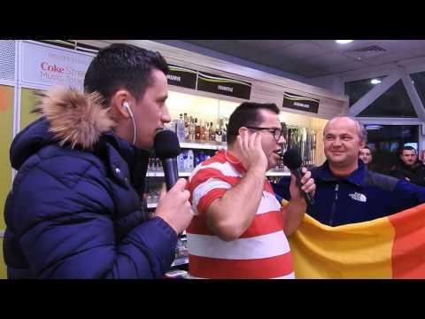 Cel mai mare radio din Romania in Cluj - Popescu si Flick la benzinaria MOL