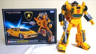 【Transformers Masterpiece】MP-39 Sunstreaker TAKARATOMY wotafa's review