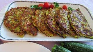 Najbolji uštipci od tikvica/ The best zucchini fritters