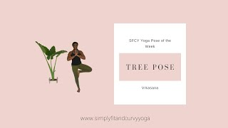 How to do yoga Tree pose or Vrkasana