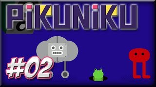 PIKUNIKU  - Walkthrough Episode 2 - The Forest, Evil Toast, and a Robot Dance Party