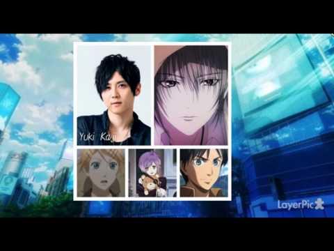 「K/K MISSING KINGS/K RETURN OF KINGS」 Japanese voice actors