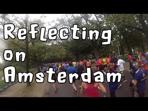 Reflecting on the Amsterdam Marathon