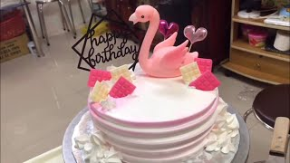 Cách làm bánh kem hot trend đơn giản - How to make birthday cake hot trend simple