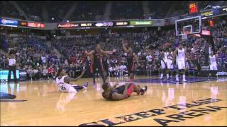 One of the Worst Offensive Fouls Called In NBA History - Raptors Commentary