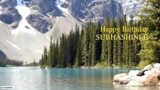 Subhashinee   Birthday   Nature