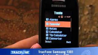 T301 Phone Features - Tracfone