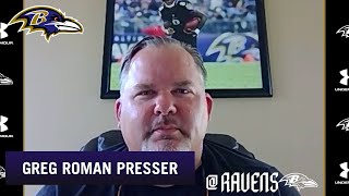 Greg Roman Discusses Offseason Growth of Offense | Baltimore Ravens