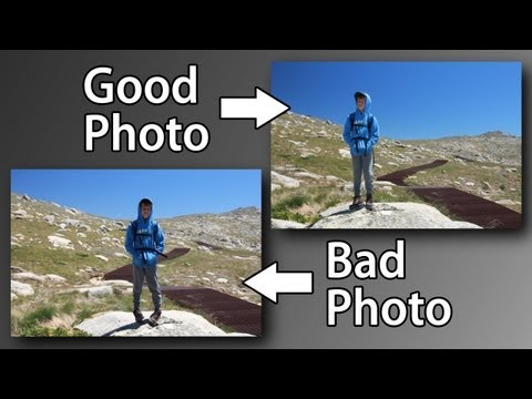 Travel Portrait Photo Tips - Composition