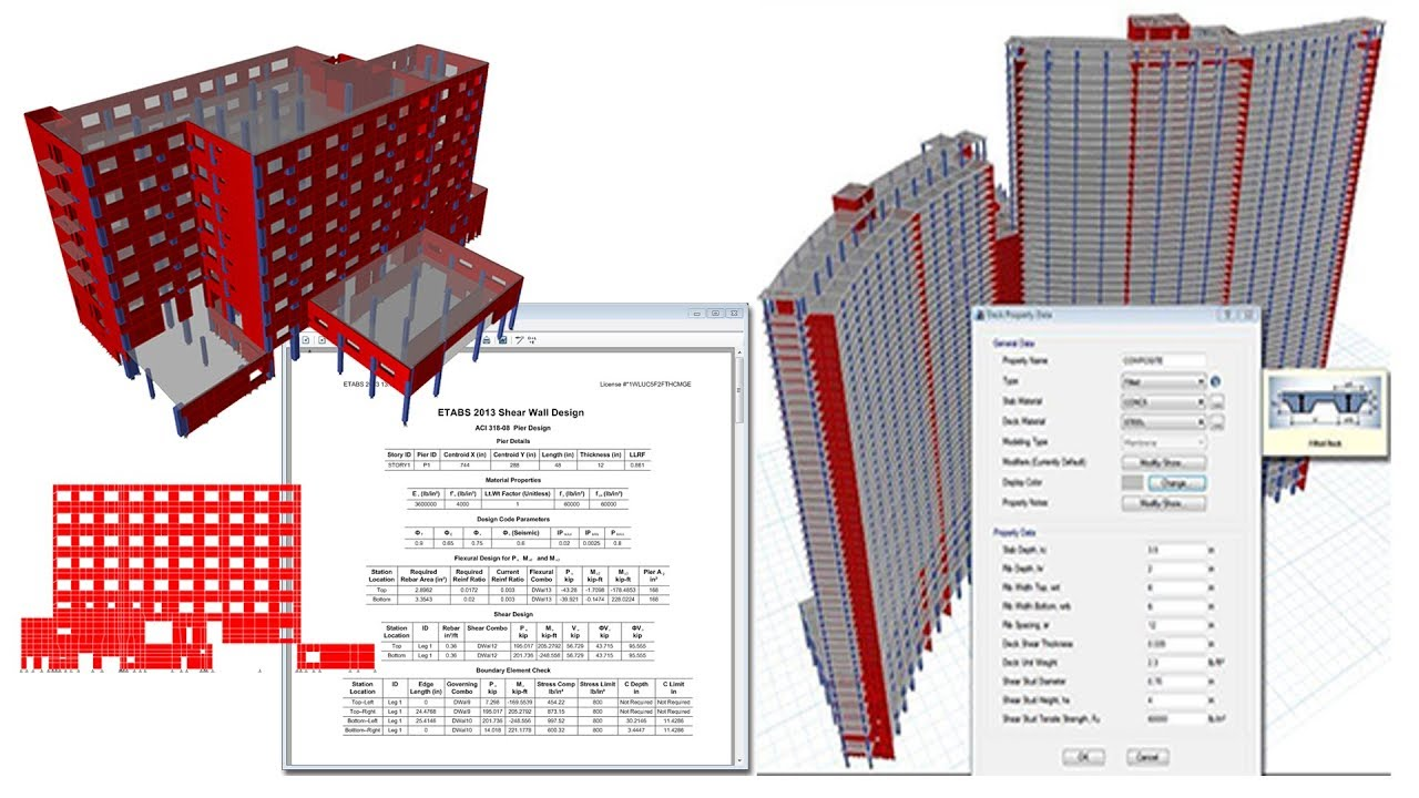 How to Analyses and Design a Structure / Building-Building Structures  Modeling and Analysis Concepts