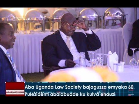 Aba Uganda Law Society bajaguzza emyaka 60