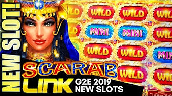 ★G2E 2019★ NEW IGT SLOTS! (PART 1 OF 2) SCARAB LINK, FORTUNE COIN BOOST, DRAGON LIGHTS Slot Machine