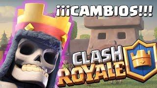 ¡¡TUMBA GIGANTE, MORTERO DE DUENDES Y BALLESTA!! Cambios inminentes | Clash Royale