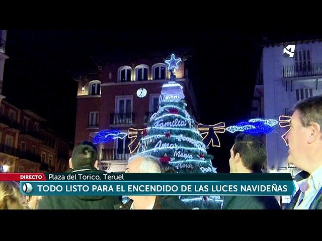 Teruel enciende la Navidad 2018