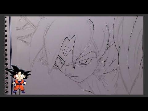 Dibujos de goku ultra instinto