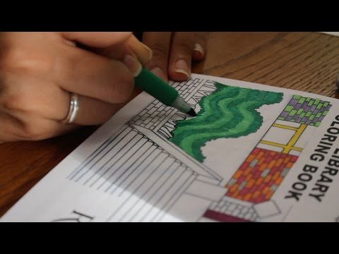 Rutgers Coloring Books Inspire Creativity