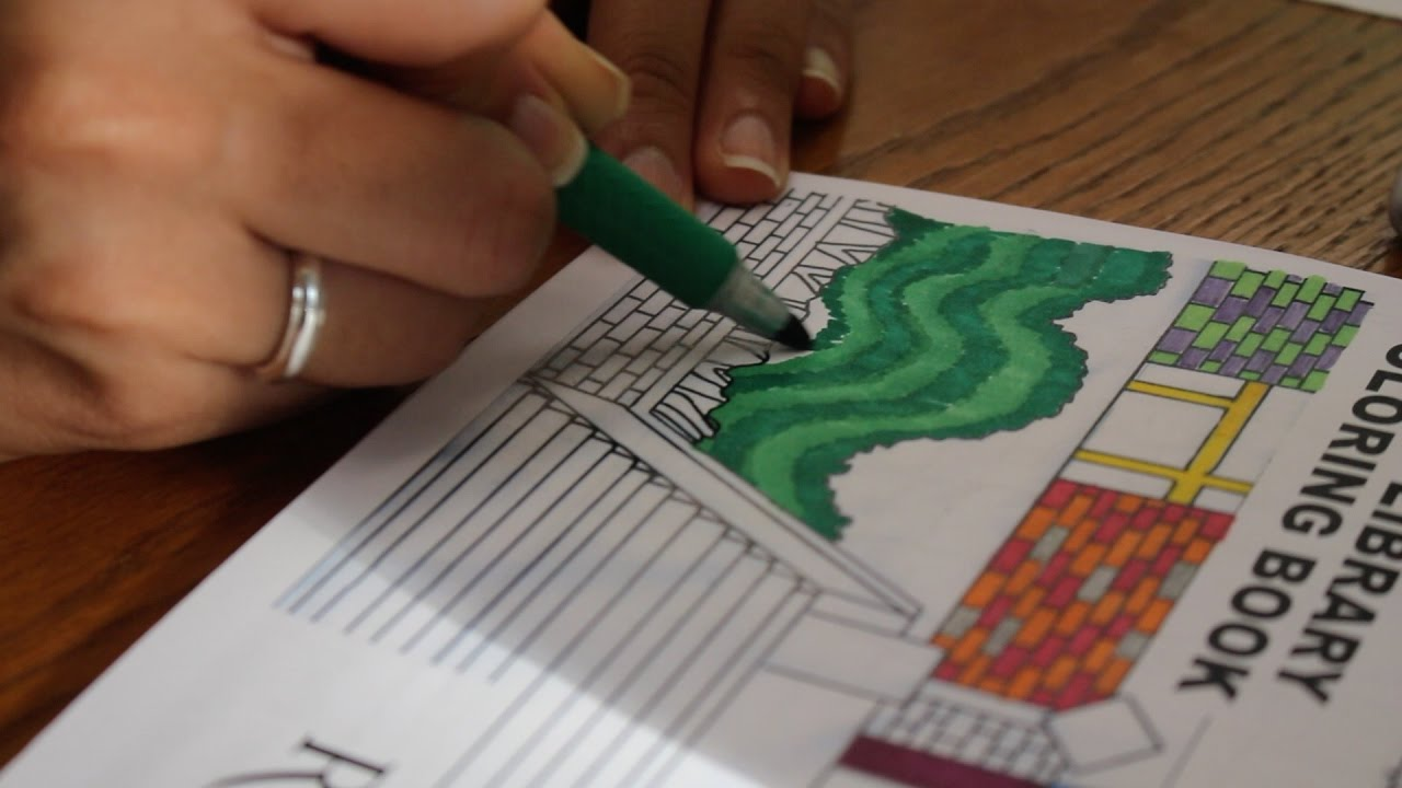 Rutgers Coloring Books Inspire Creativity - YouTube
