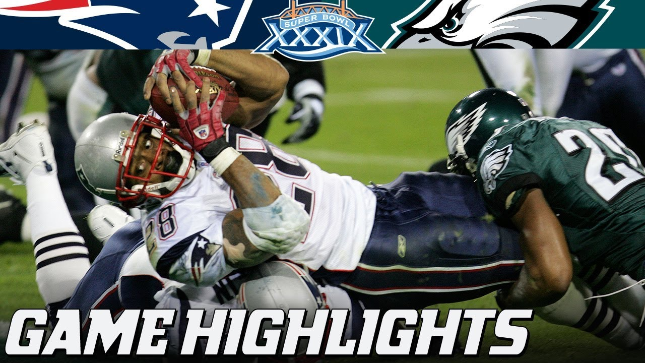 Patriots vs. Eagles  Super Bowl XXXIX Full Highlights  4b08e7d1c