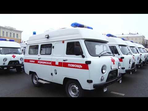 В автопарке Нелидовской ЦРБ появился реанимобиль