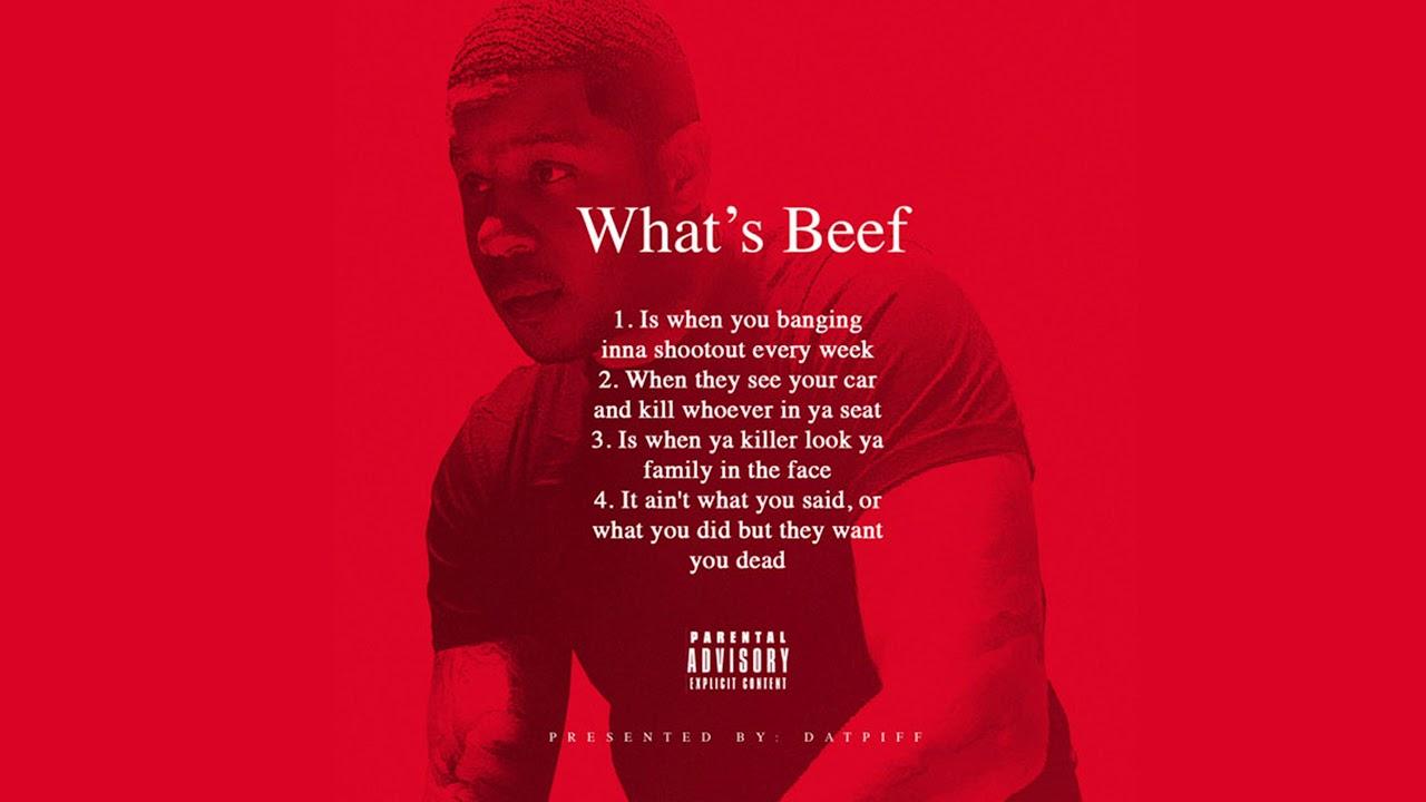 Vado - What's Beef? (AUDIO)