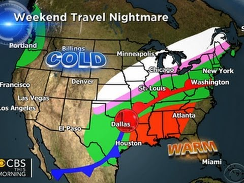 Mid-March storm may threaten significant travel impacts in eastern US