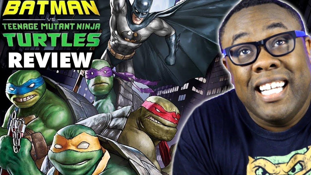 Batman Vs Ninja Turtles Movie Review Youtube
