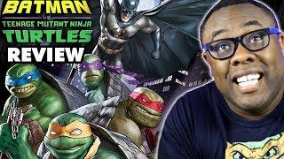 BATMAN vs NINJA TURTLES - Movie Review