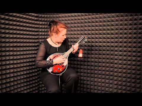 STAGG M50E Mandolin demo by Olga Egorova
