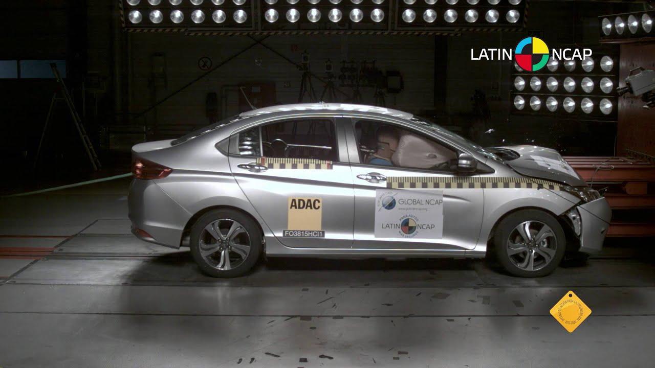Crash Test Com Honda City