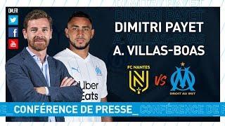 FCN-OM l La conférence d'André Villas-Boas & Dimitri Payet