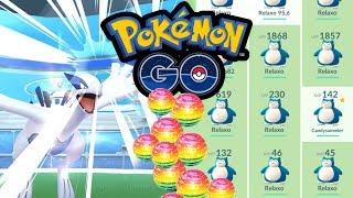 Lugia WP-Bug (+50 WP) & seltene Pokémon verschicken