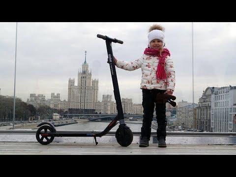 Электросамокат Ninebot By Segway KickScooter ES1 ϟ ОБЗОР НОВИНКИ 2017