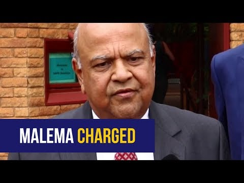 WATCH: Pravin Gordhan files criminal charges against Malema