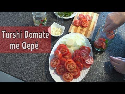 Turshi Domate te kuqe me Qep Recept i N n s 15