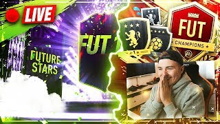 FUTURE STARS PACK OPENING + SBC's & Weekend League Late Night !!