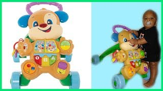 Baby Toy Unboxing | Fisher Price Learn With Puppy Walker | First Impression And Now