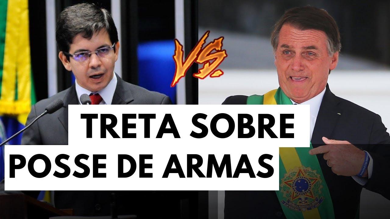 Treta de Randolfe e Bolsonaro sobre POSSE DE ARMAS | por Adler Neves