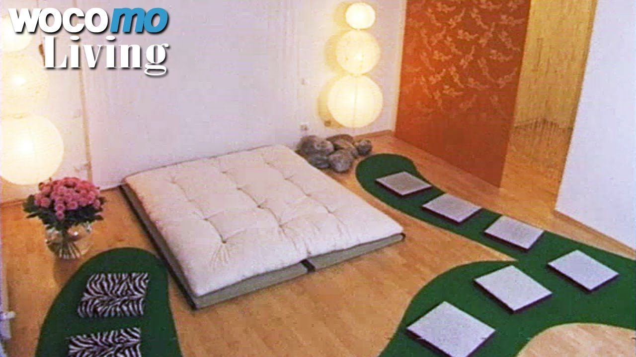feng shui schlafzimmer einrichten tapetenwechsel br staffel 2 folge 9 youtube. Black Bedroom Furniture Sets. Home Design Ideas
