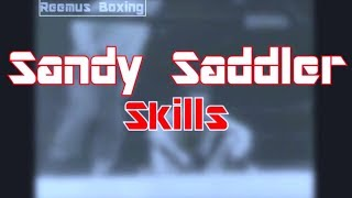 Sandy Saddler: In-Fighting & Dirty Bullying - (Boxing Technique)