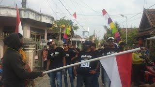 Mathon Sablon Gerak Jalan HUT RI 75 Desa Wantilgung